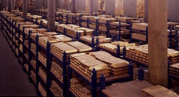 England Gold vault