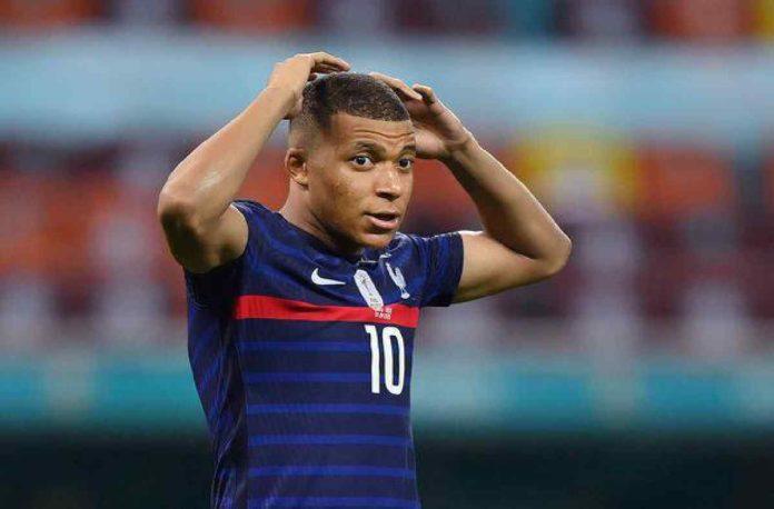Kylian Mbappe penalty miss