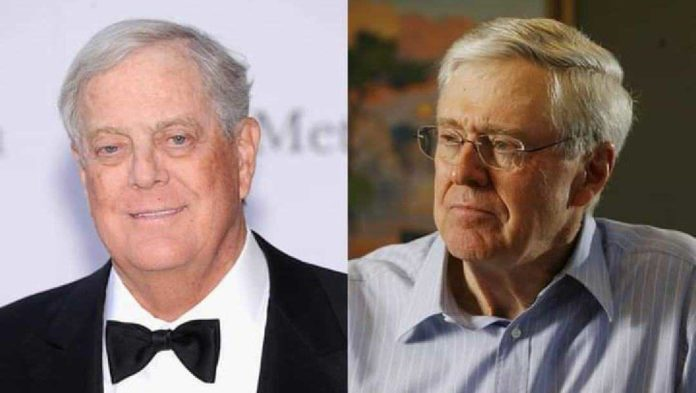 Net Worth of Koch brothers